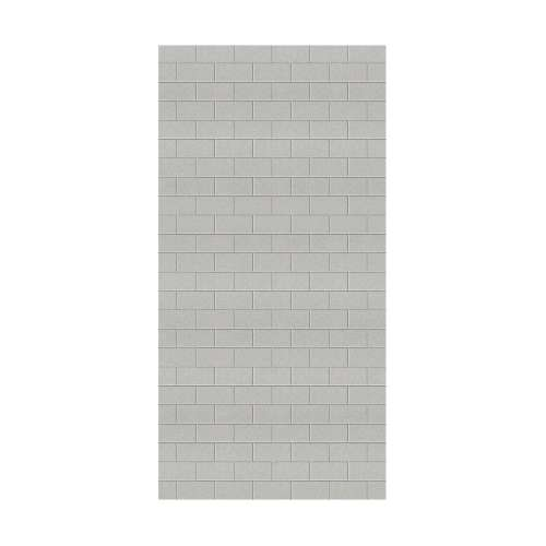 Monterey 48-in x 96-in Glue to Wall Wall Panel, Grey Stone/Tile
