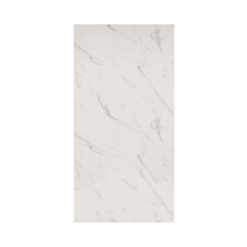 Silhouette 48-in x 96-in Glue to Wall Wall Panel, Pearl Stone