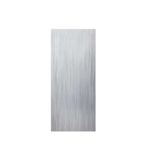 Luxura 36-in x 84-in Glue to Wall Tub Wall Panel, Iceberg Grey