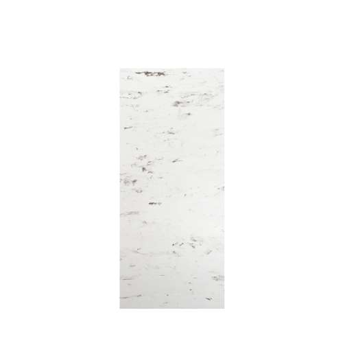 Monterey 36-in x 84-in Glue to Wall Tub Wall Panel, Carrara/Velvet