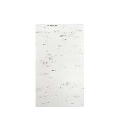 Monterey 48-in x 84-in Glue to Wall Tub Wall Panel, Carrara/Velvet
