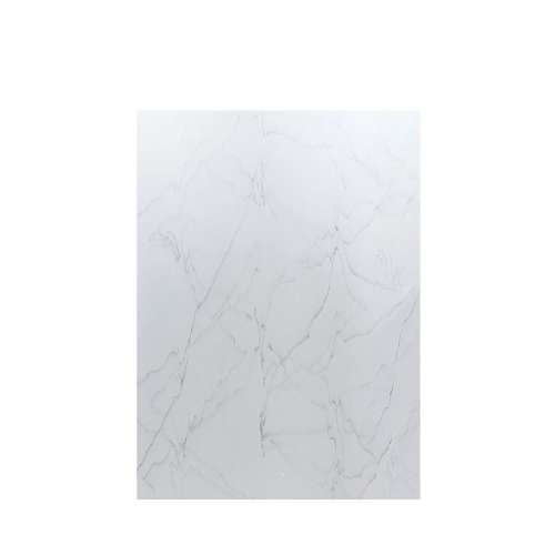 Luxura 60-in x 84-in Glue to Wall Tub Wall Panel, Palladium White