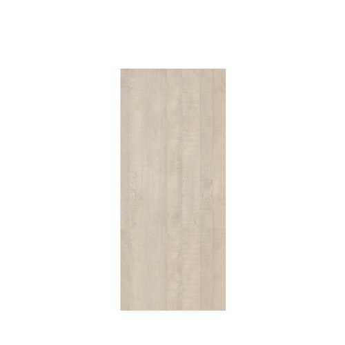 Silhouette 36-in x 84-in Glue to Wall Tub Wall Panel, Washed Oak