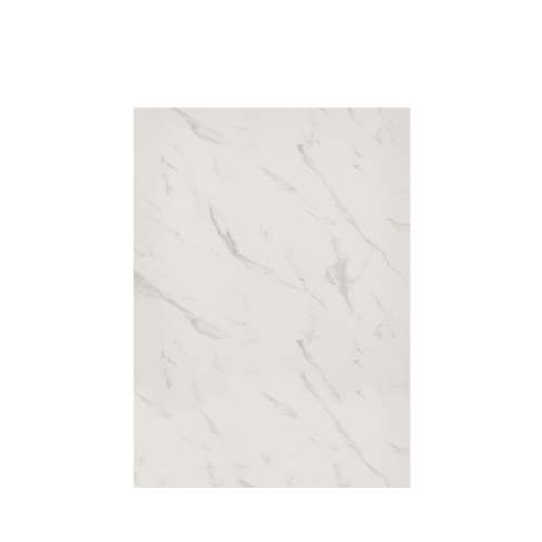 Silhouette 60-in x 84-in Glue to Wall Tub Wall Panel, Pearl Stone