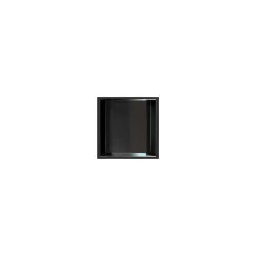 14-in. Recessed Horizontal Storage Pod, in Matte Black
