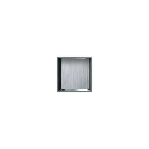 14-in. Recessed Horizontal Storage Pod Rear Lined in Iceberg Grey