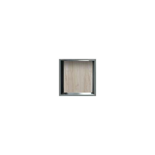 14-in. Recessed Horizontal Storage Pod Rear Lined in Jupiter Stone