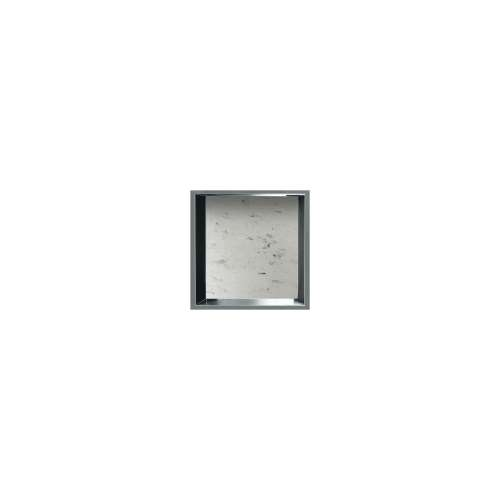 14-in. Recessed Horizontal Storage Pod Rear Lined in Carrara
