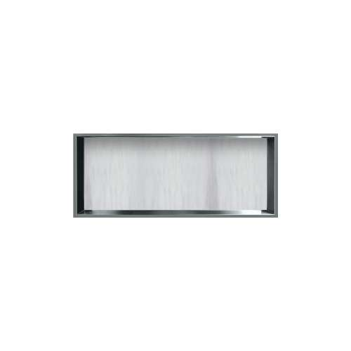 34.5-in. Recessed Horizontal Storage Pod Rear Lined in Bellagio