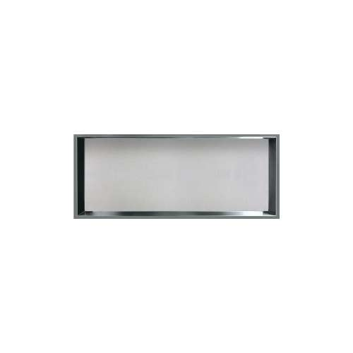 34.5-in. Recessed Horizontal Storage Pod Rear Lined in Grey Stone