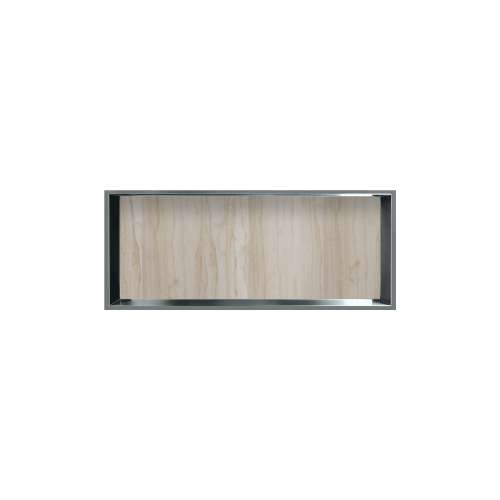 34.5-in. Recessed Horizontal Storage Pod Rear Lined in Jupiter Stone