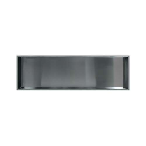 46.5-in. Recessed Horizontal Storage Pod, in Brushed Stainless