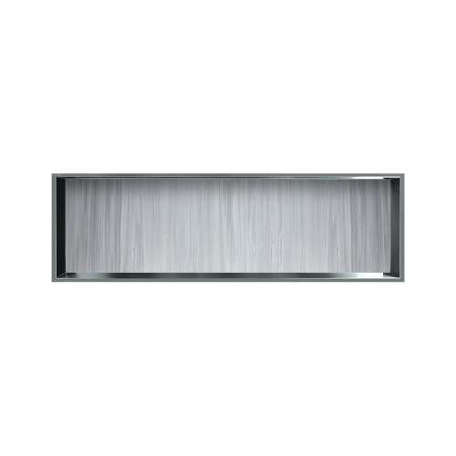 46.5-in. Recessed Horizontal Storage Pod Rear Lined in Iceberg Grey