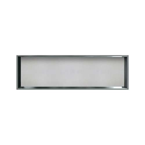 46.5-in. Recessed Horizontal Storage Pod Rear Lined in Grey Stone