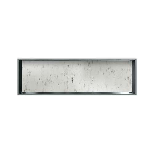 46.5-in. Recessed Horizontal Storage Pod Rear Lined in Carrara