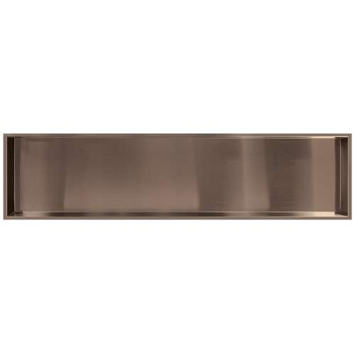 58.5-in. Recessed Horizontal Storage Pod, in Champagne Bronze