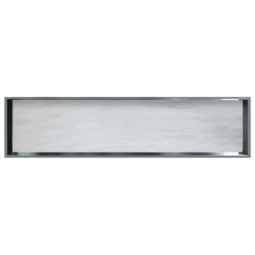 58.5-in. Recessed Horizontal Storage Pod Rear Lined in Bellagio