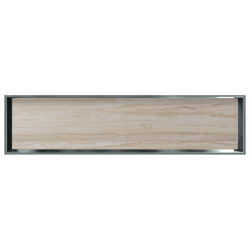 58.5-in. Recessed Horizontal Storage Pod Rear Lined in Jupiter Stone