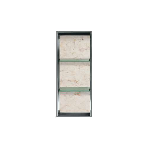 34.5-in. Recessed Vertical Storage Pod Rear Lined in Tiled Butterscotch