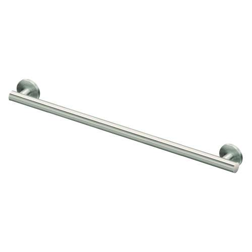 Sienna Stainless Steel 1-1/4-in Dia. 36-inch Grab Bar, in Brushed Stainless