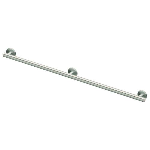 Sienna Stainless Steel 1-1/4-in Dia. 54-inch Grab Bar, in Brushed Stainless