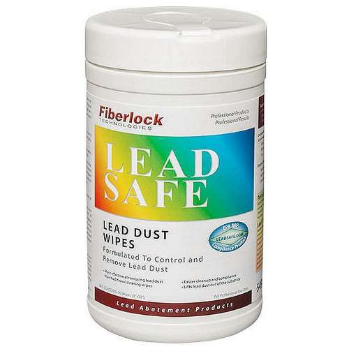 Wipes 8 x12-in Leadsafe - 5498 Lbc - Lead Dust Removal