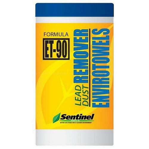 Wipes 8 x12 In Leadsafe Et90 F/Cleaning/Removing Lead Dust