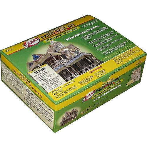 D-Lead Paint Test Kit Ptkit-24-1.0/24 Test Per Kit