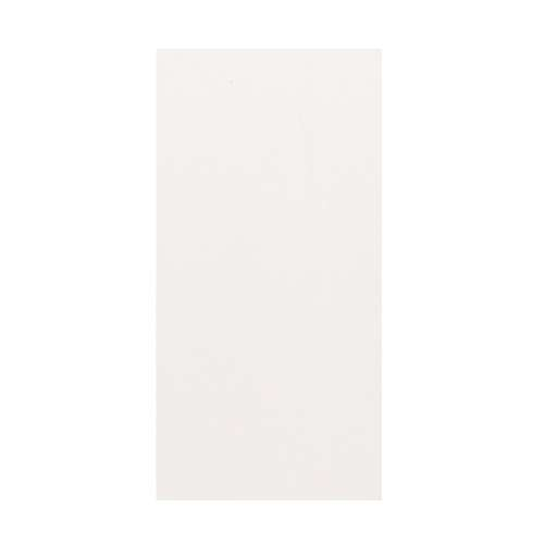 Silhouette 48-in x 96-in Glue to Wall Wall Panel, White