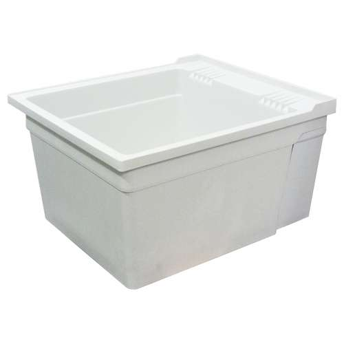 Samuel Mueller Compostite 22-in Wall Mounted Laundry Tub