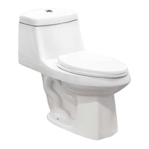 Samuel Mueller Jersey ADA 1-Piece 1.28 GPF Elongated Toilet - SMBTS-1495
