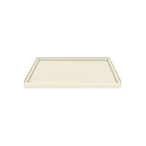 Samuel Mueller Solid Surface 60-in x 36-in Shower Base with Center Drain
