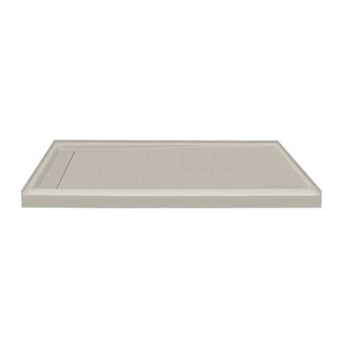Linear 60-in x 36-in Shower Base with End Drain, in Sandbar