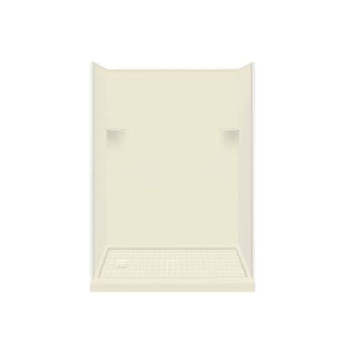 Samuel Mueller Luxura Solid Surface 60-in x 96-in Alcove Shower Kit