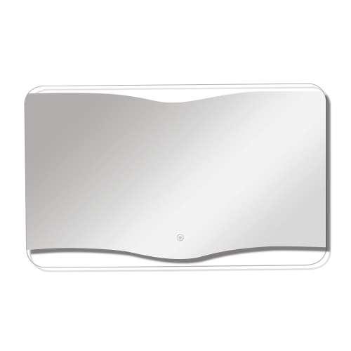 Samuel Mueller Gable 35-in X 24-in LED Back-Lit Mirror with Touch Sensor