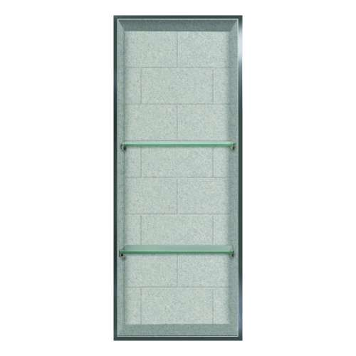 Samuel Mueller Monterey 14-in. Recessed Material Shower Storage Pod