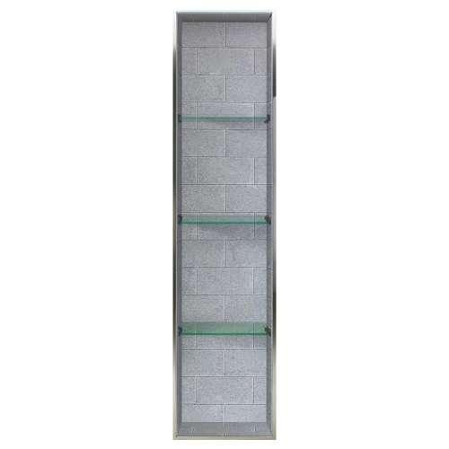 Samuel Mueller Monterey 14-in. Recessed Material Shower Storage Pod