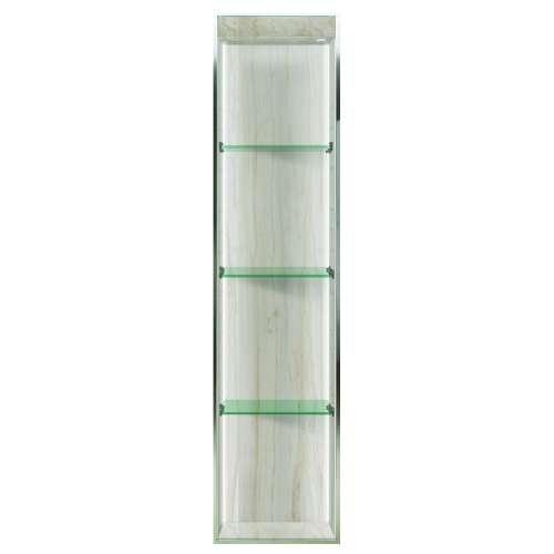 Samuel Mueller Silhouette 14-in. Recessed Composite Material Shower Storage Pod