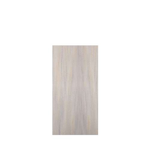 Luxura 36-in x 72-in Glue to Wall Tub Wall Panel, Creme Brulee
