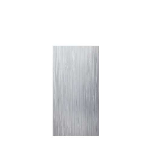 Luxura 36-in x 72-in Glue to Wall Tub Wall Panel, Iceberg Grey
