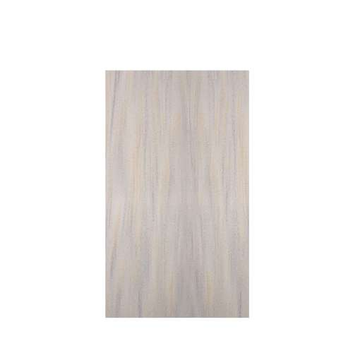 Luxura 48-in x 84-in Glue to Wall Tub Wall Panel, Creme Brulee