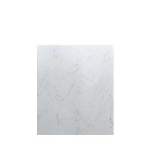 Luxura 60-in x 72-in Glue to Wall Tub Wall Panel, Palladium White