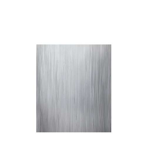 Luxura 60-in x 72-in Glue to Wall Tub Wall Panel, Iceberg Grey