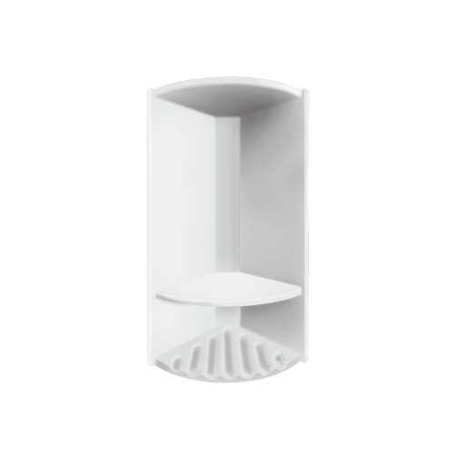 Monterey 14.375-in x 6-in Shower Caddy, in White