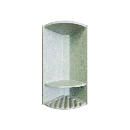 Monterey 14.375-in x 6-in Shower Caddy, in Grey Stone