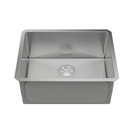 Samuel Mueller Monterey Stainless Steel 23-in Undermount Kitchen Sink