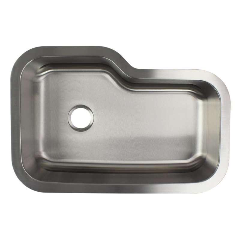 Samuel Mueller Monterey Stainless Steel 33 In Undermount Kitchen Sink