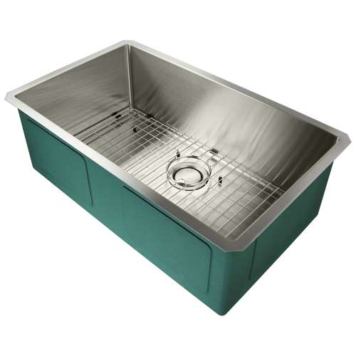 Samuel Mueller Monterey Stainless Steel 30-in Undermount Kitchen Sink