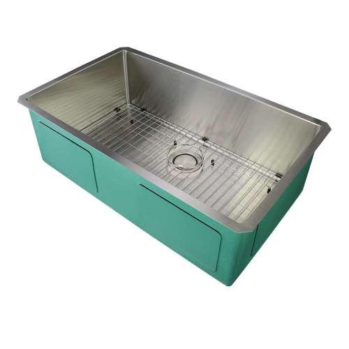 Samuel Mueller Monterey Stainless Steel 32-in Undermount Kitchen Sink