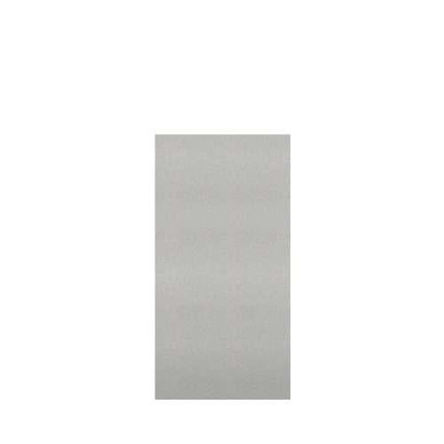 Monterey 36-in x 72-in Glue to Wall Tub Wall Panel, Grey Stone/Velvet